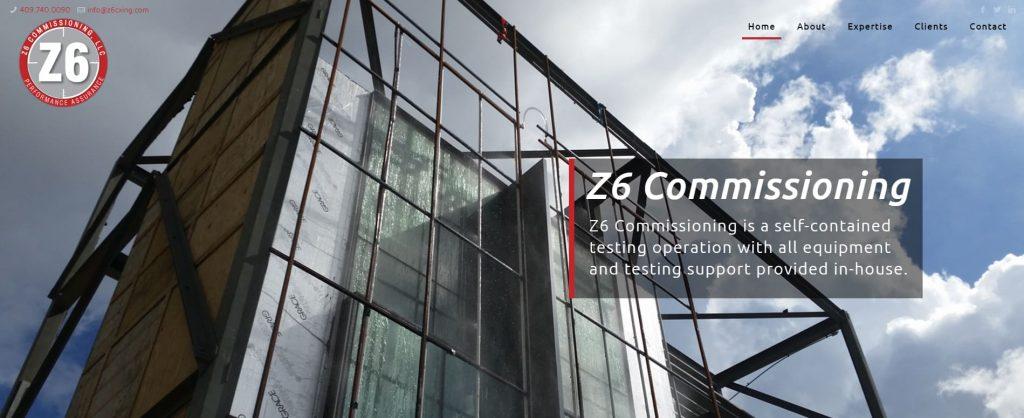 Z6 Commissioning, LLC Unveils Newly Designed Website