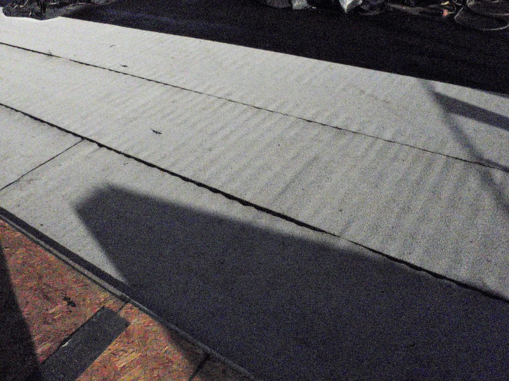 """Lessons Learned in the Field: """"The Washboard Effect"""" of Torched Applied Roofing Membranes 2"""